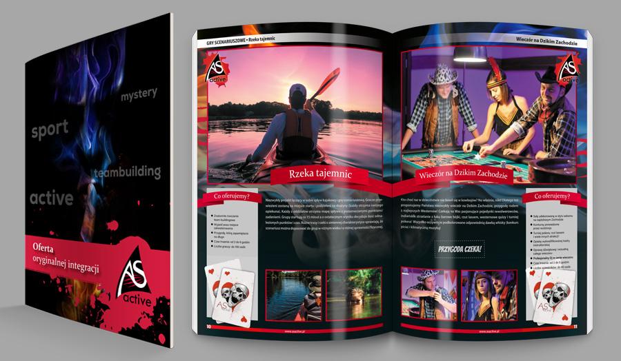 Katalogi, gazetki reklamowe, <br />broszury, instrukcje